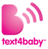 Logo for text4baby app